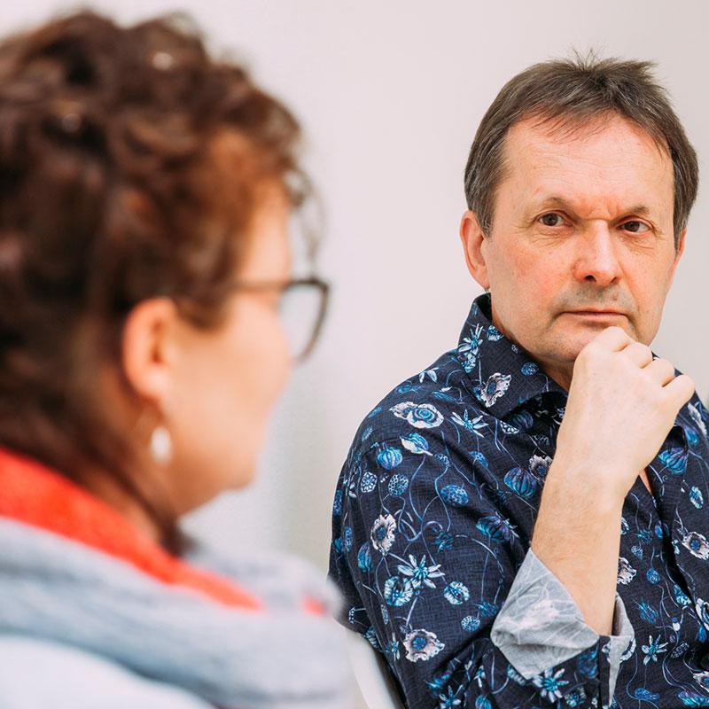 Einzeltherapie mit Franz Reuter