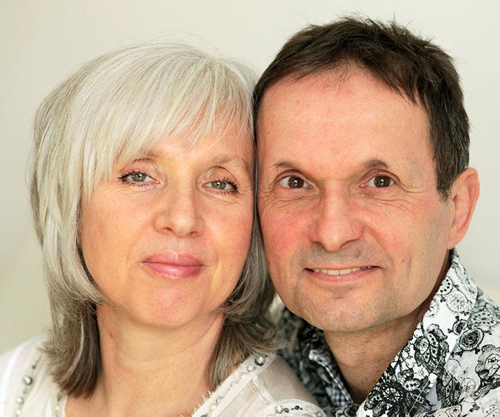 Dhyana Eva und Franz Reuter