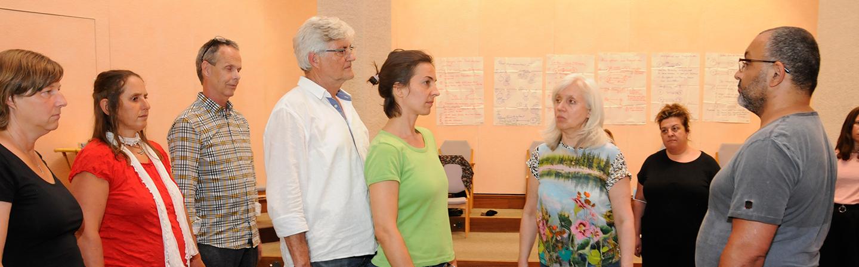 Familienstellen befreit Aufstellungstag Frankfurt Dhyana Eva Reuter
